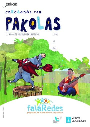 cartel definitivo Enredando con Pakolas con referencia